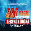 Festiwal wROCK for Freedom 2017 - wROCK, Wroclaw, Koncert, Rozrywka, Muzyka, Wakacje, Janerka, Organek, Riverside