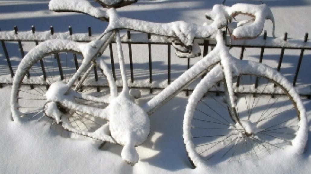 Pedałuj na rowerze nawet zimą!