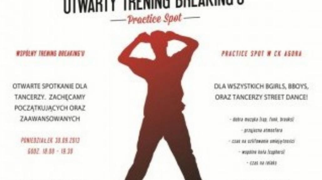 Otwarty trening streedance