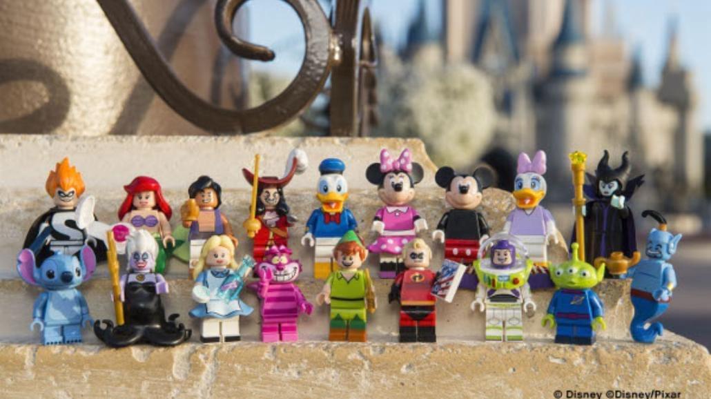 LEGO przedstawia 18 kultowych postaci z filmów Disneya