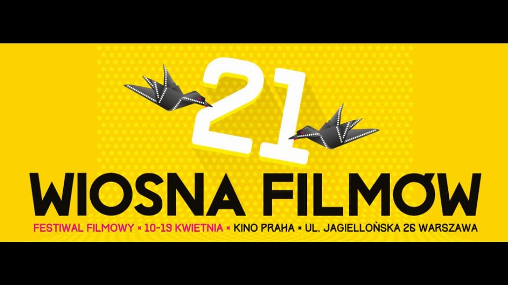 XXI Festiwal Filmowy Wiosna Filmów już w kwietniu