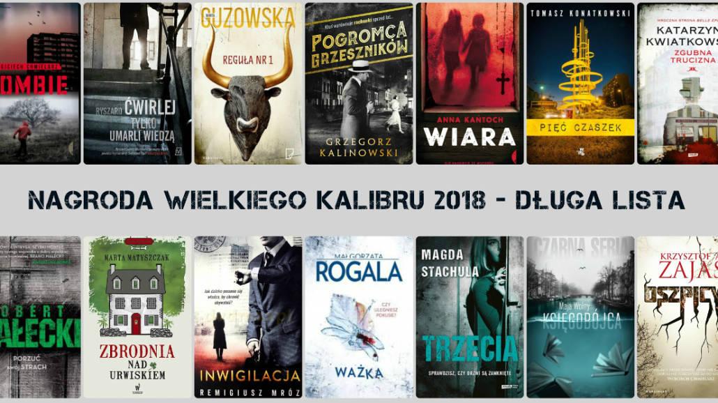 Nagrody Wielkiego Kalibru 2018