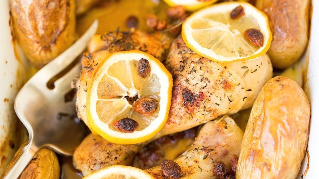 Przepis na fit kurczaka cytrynowego