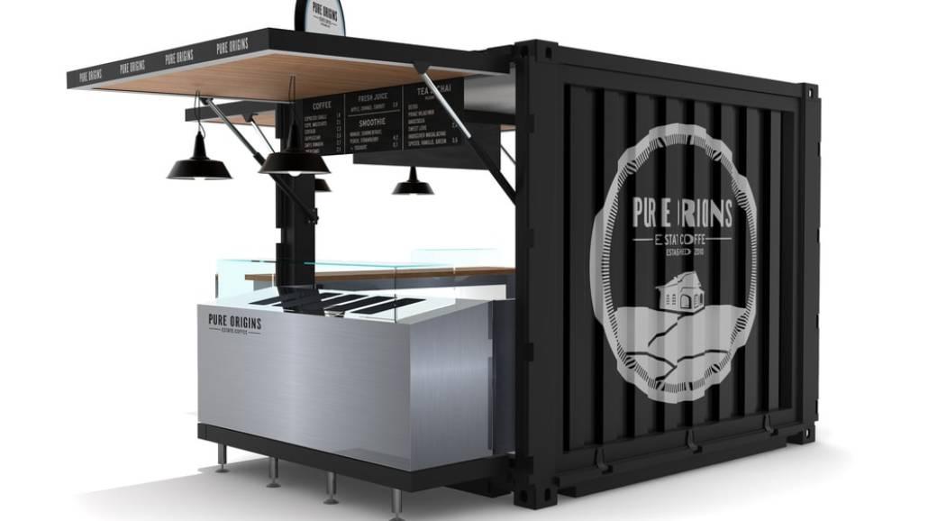 Mobilne kontenery idealnie zastąpią budki gastronomiczne, łącząc funkcjonalność z niską ceną.