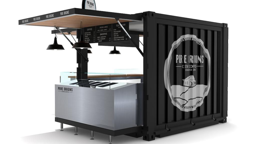 Mobilne kontenery oferujÄ… produkty, ktÃłre przydadzÄ… siÄ™ w branÅźy gastronomicznej.