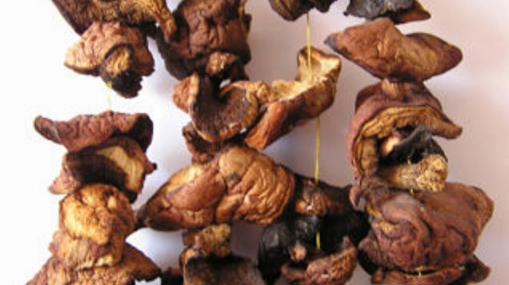 Kanapeczki z grzybami