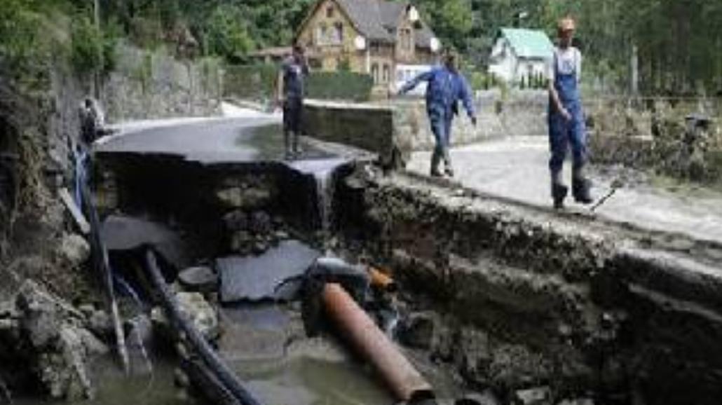 Bogatynia: krajobraz po powodzi