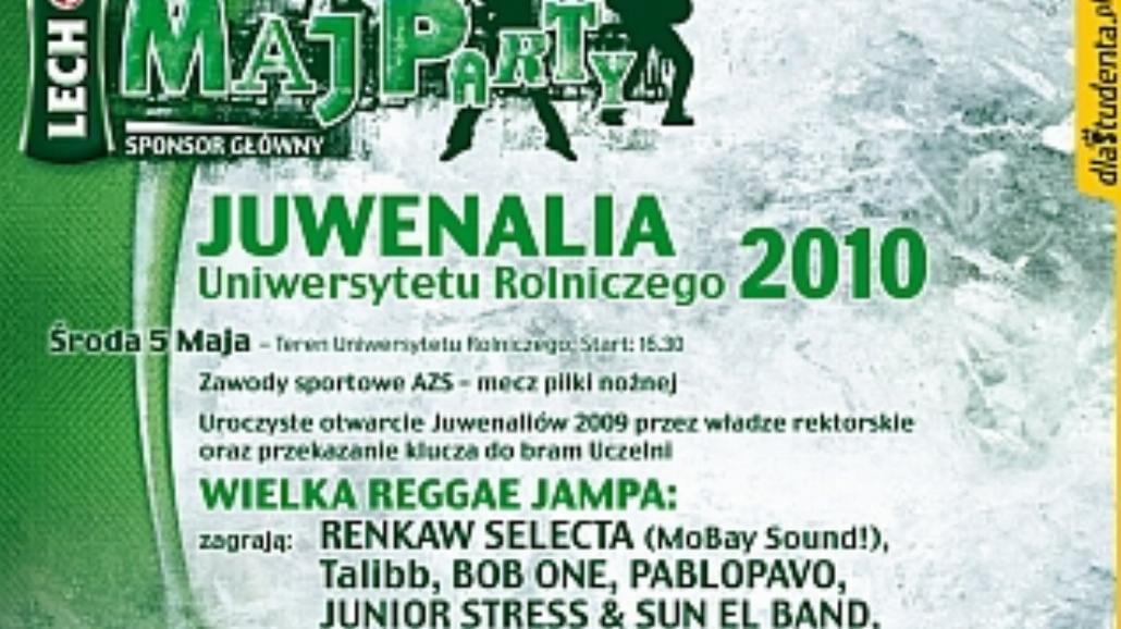 Lech Maj Party UR 2010 - program