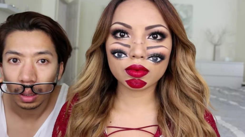 Od tego makijażu rozboli cię głowa! Zobacz, jak go wykonać!
