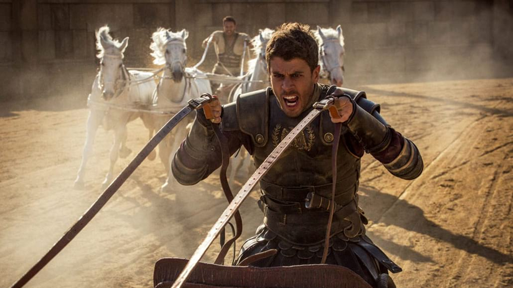 """""""Ben-Hur"""" - od dziewiętnastowiecznej powieści do filmowego przeboju z XXI wieku [FOTO]"""