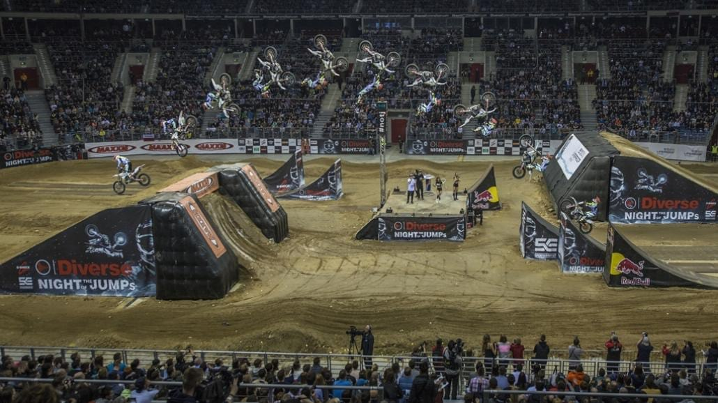 Diverse NIGHT of the JUMPs w Tauron Arena Kraków
