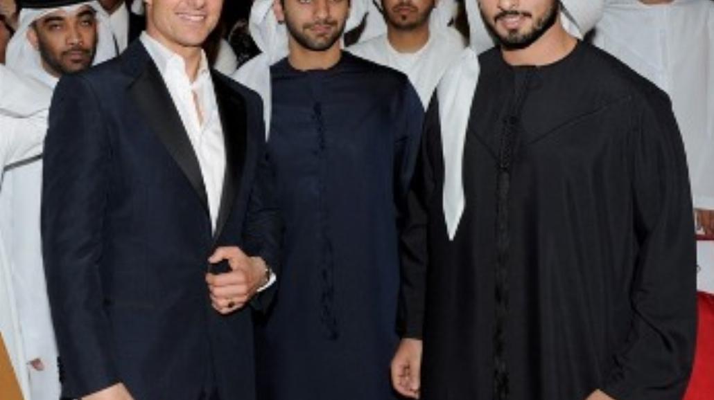 Tom Cruise i Paula Patton w Dubaju (zdjęcia)
