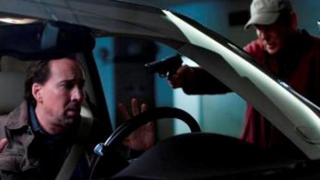 Policja ostrzelała samochód... kaskaderów