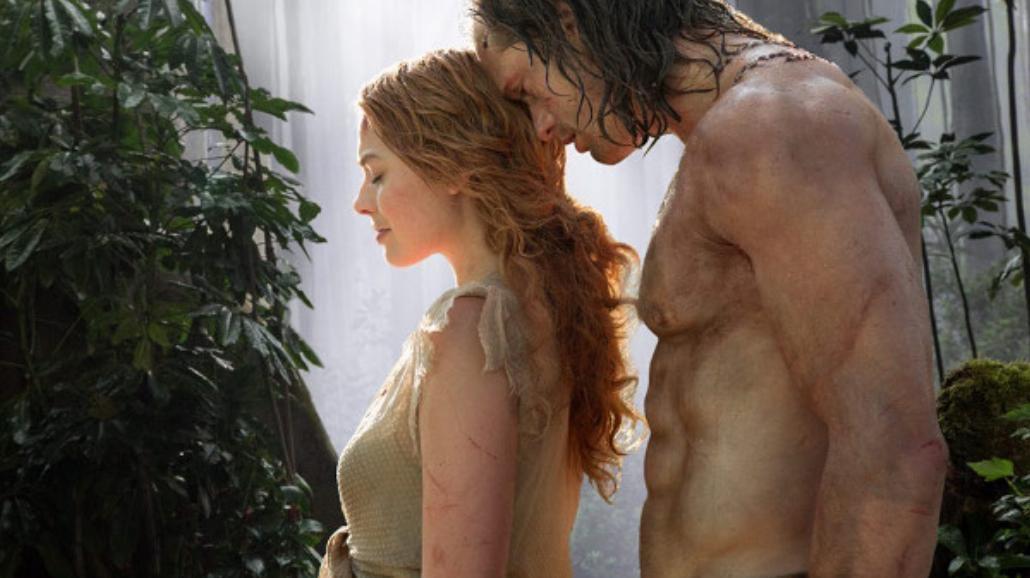 """Spektakularne sceny w nowej zapowiedzi """"Tarzan: Legenda"""" [WIDEO]"""
