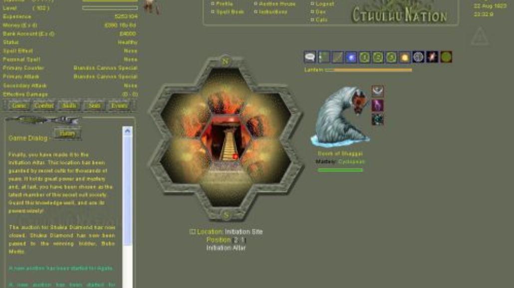 Cthulhu Nation Online – konkurencja dla Ogam