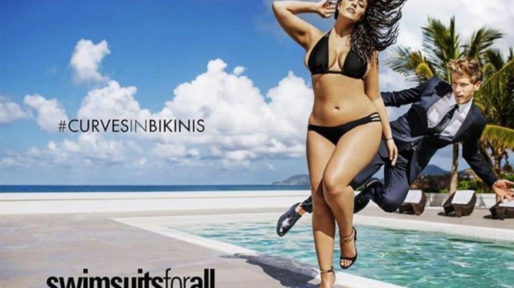 """Modelka XXL na okładce """"Sport's Illustrated"""" [ZDJĘCIA]"""