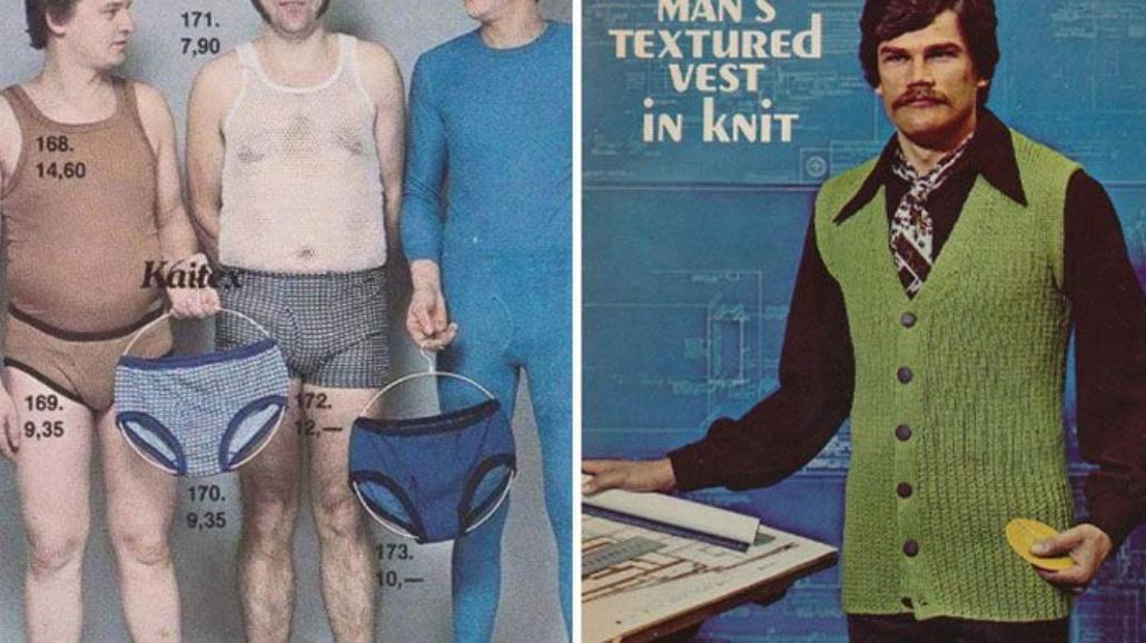 Faceci naprawdę chodzili tak ubrani! Tych stylizacji nigdy nie zapomnisz...