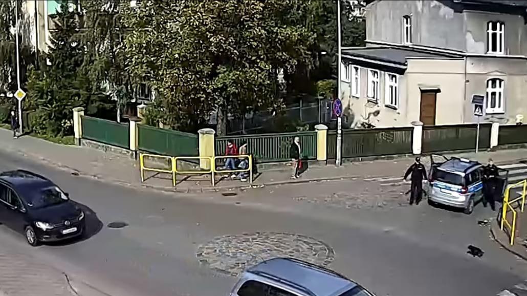 Zobacz filmik zarejestrowany przez kamery w Malborku!