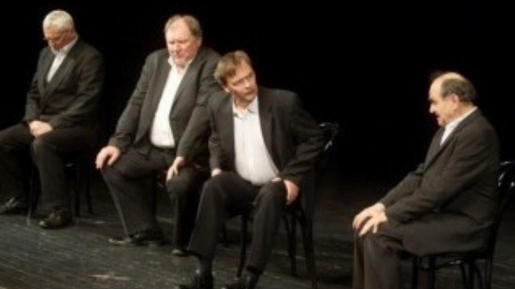 Czterech aktorów na zakończenie SZPAK
