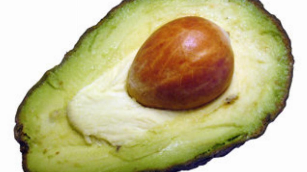 Sałatka z avocado i melonem
