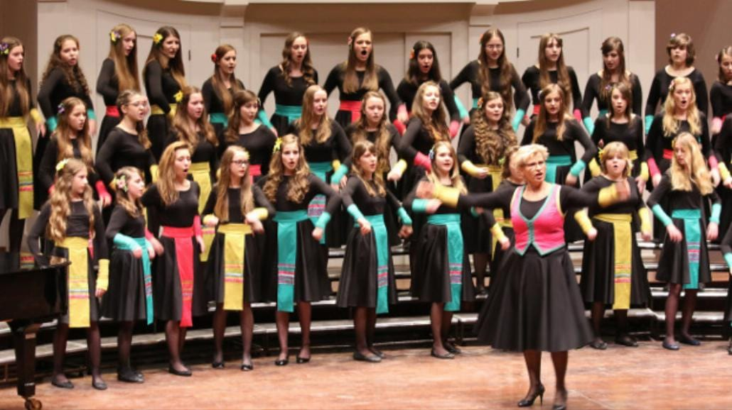 Skowronki - pierwszy polski chór żeński na deskach Carnegie Hall w Nowym Jorku