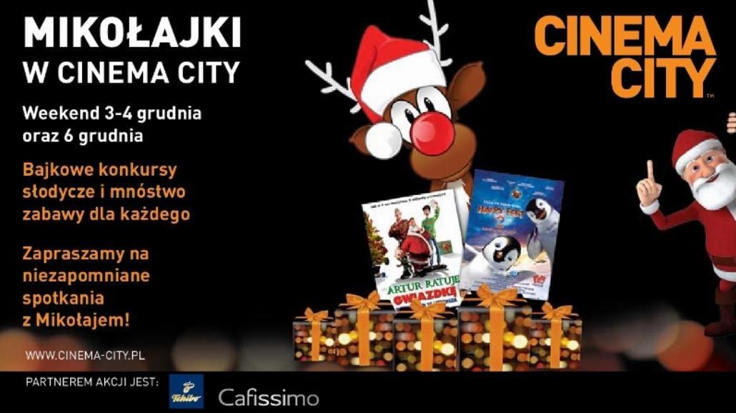 Zaczarowane Mikołajki z Cinema City i Orange IMAX