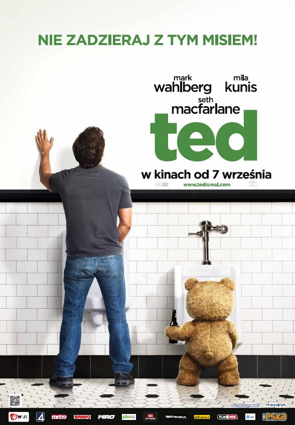 Ted - polski plakat
