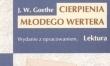 """Cierpienia Młodego Wertera"", Johann Wolfgang von Goethe"