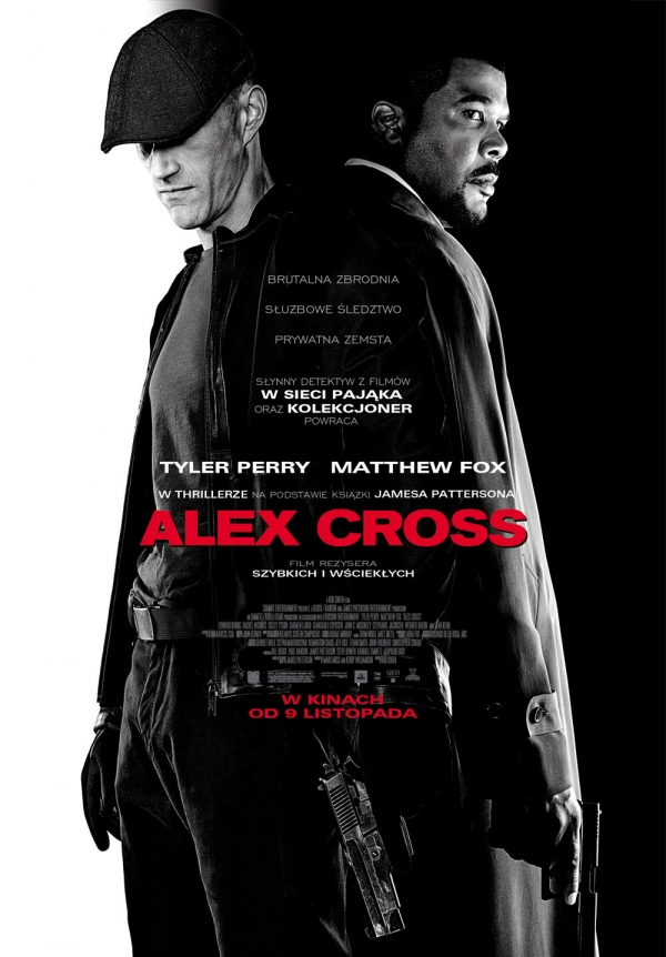 Alex Cross - polski plakat