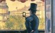 """""""L'homme Au Balcon"""" Gustave Caillebotte"""