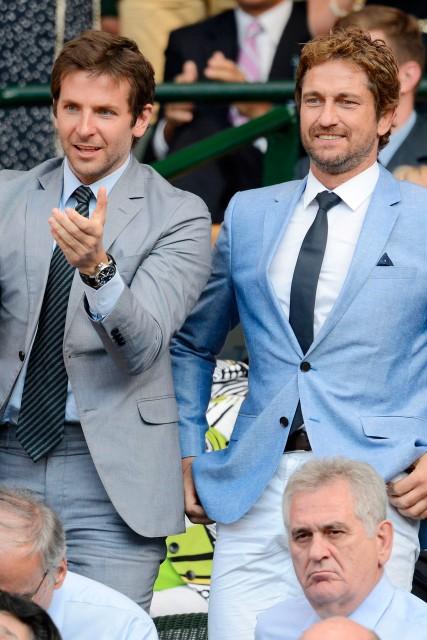 Aktorzy Bradley Cooper i Gerard Butler