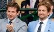 Gwiazdy na trybunach Wimbledonu