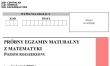 Próbna matura 2020 - arkusz CKE - matematyka rozszerzona