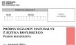 Próbna matura 2020 - arkusz CKE - j. rosyjski rozszerzony