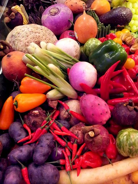 Spożywaj dużo owoców i warzyw