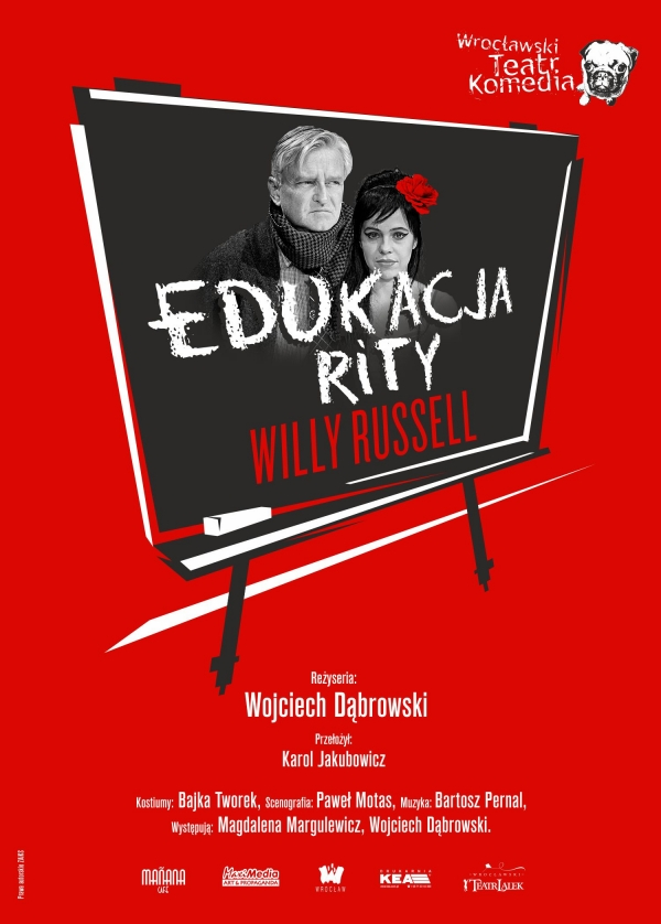 Edukacja Rity - plakat