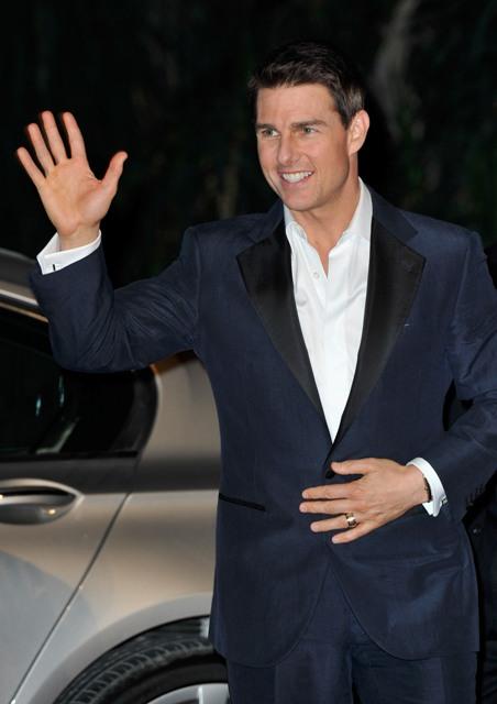 Tom Cruise i Paula Patton w Dubaju  - Zdjęcie nr 2