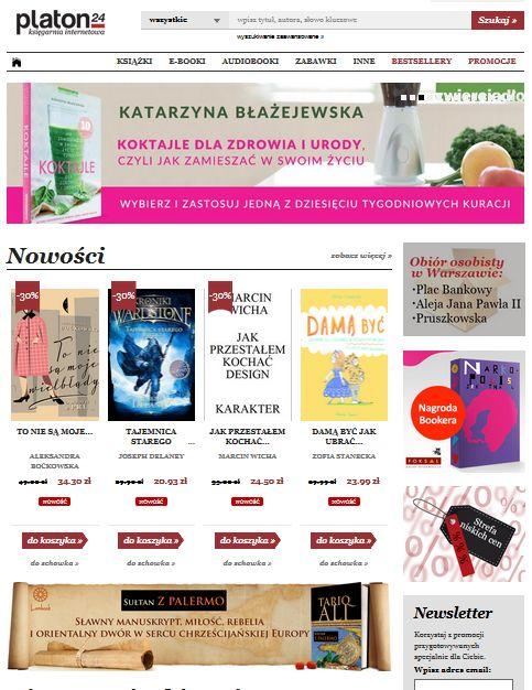 Księgarnia internetowa Platon24.pl  - Zdjęcie nr 1