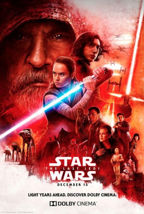 Gwiezdne Wojny Ostatni Jedi Plakaty Z Filmu Zdjęcie Nr