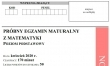 Próbna matura 2020 - arkusz CKE - matematyka podstawowa