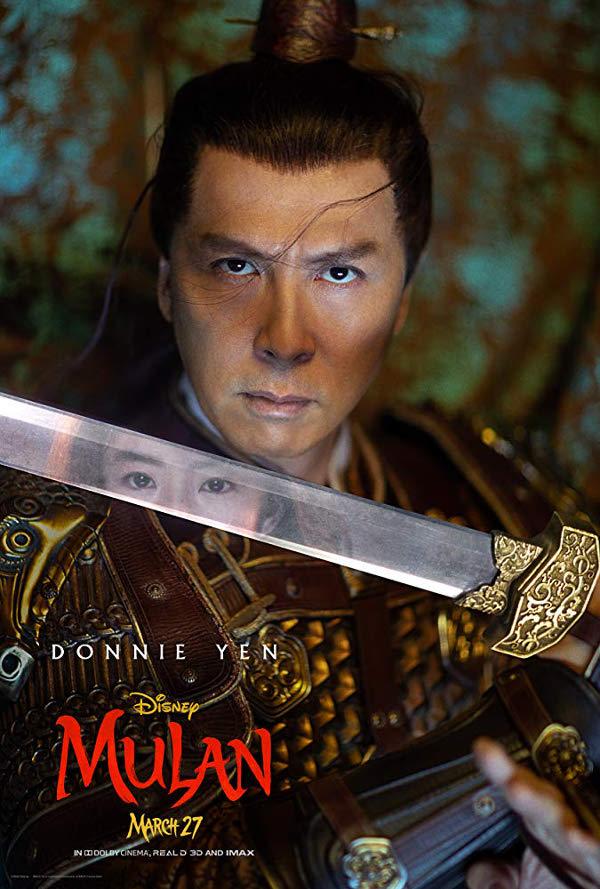 Mulan 2020 - plakaty z bohaterami  - Zdjęcie nr 5