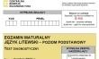 Próbna matura CKE 2021 - j. litewski podstawowy - Arkusz