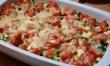 Zapiekanka z warzywami i kiełbasą