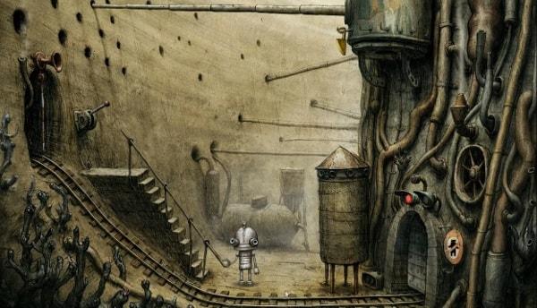 Machinarium - najlepsze gry przygodowe