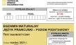 Próbna matura CKE 2021 - j. francuski podstawowy - Arkusz