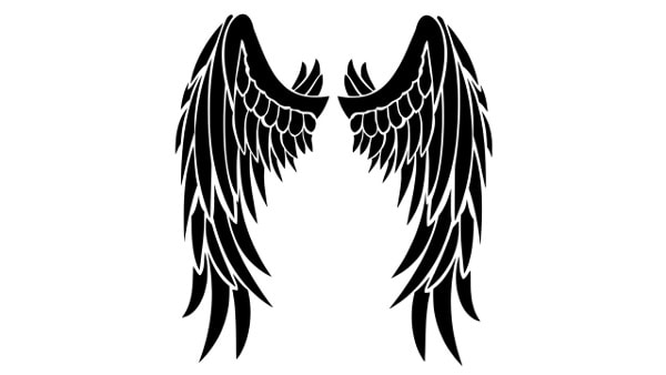 Skrzydła Wzory Męskich Tatuaży Zdjęcia Fotki Facet