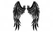 Skrzydła - wzory męskich tatuaży