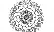 Kwiat - wzory męskich tatuaży