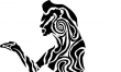Kobieta - wzory męskich tatuaży
