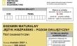 Próbna matura CKE 2021 - j. hiszpański dwujęzyczny - Arkusz